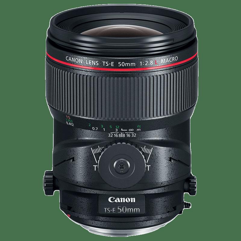 Canon Tilt Shift Lens (TS-E 50 mm f/2.8L Macro, Black)_1