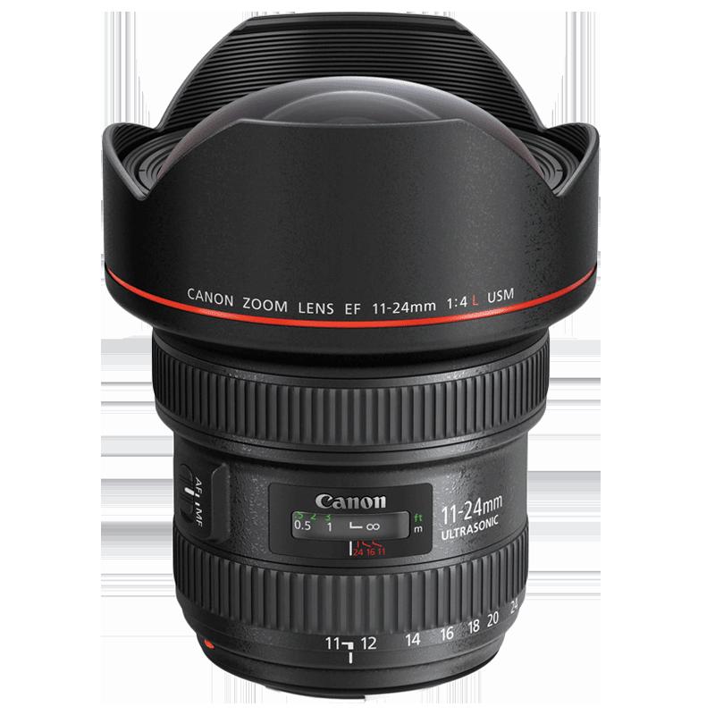Canon Lens with Lens Case (EF 11-24 mm f/4L USM, Black)_1