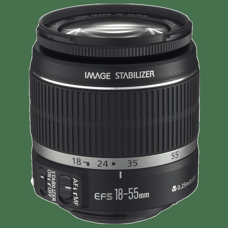 Canon Zoom Lens (EF-S 18-55 mm f/3.5-5.6 IS II, Black)_1