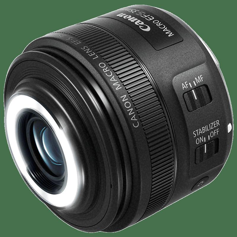 Canon Lens (EF-S 35 mm f/2.8 Macro IS STM, Black)_1