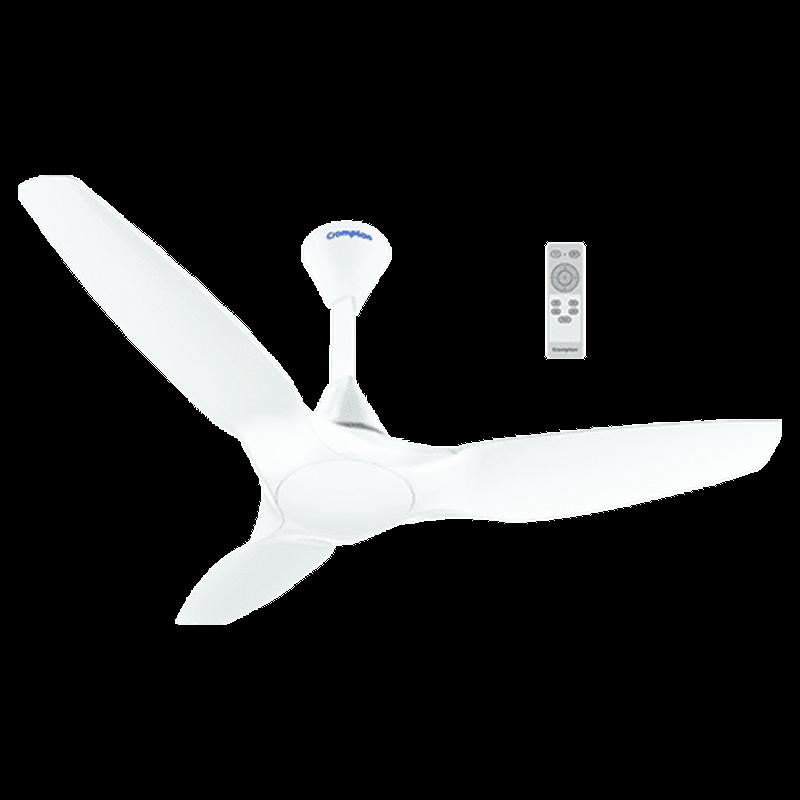 Crompton 120 cm 3 Blade Ceiling Fan (SilentPro Enso / White)_1