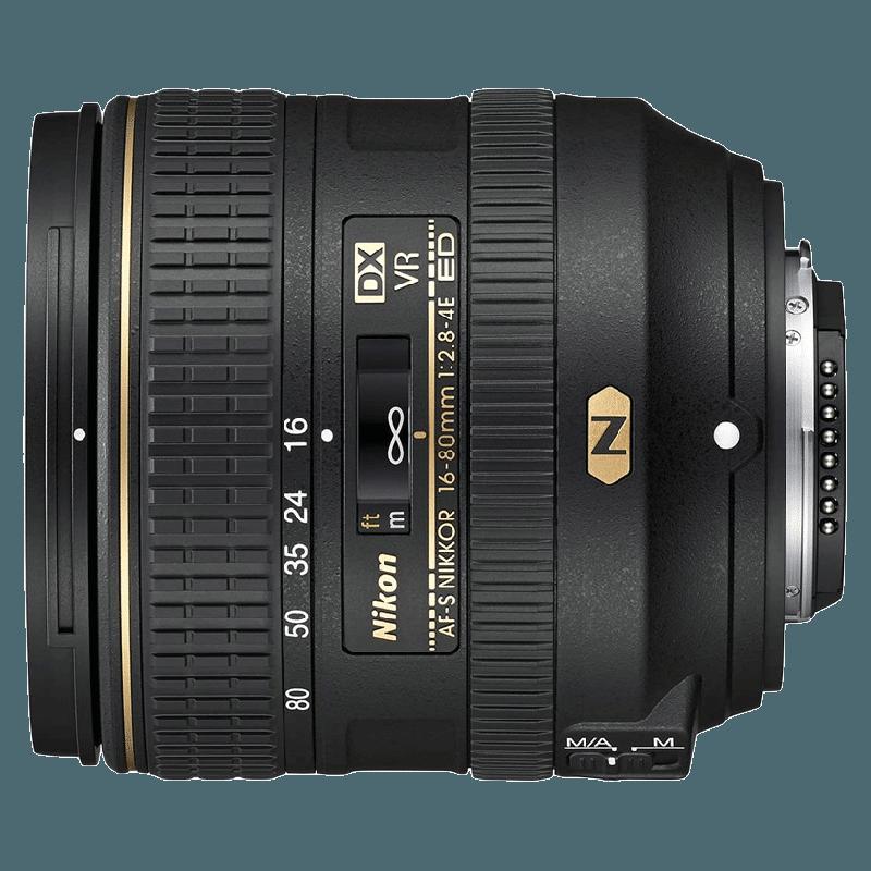 Nikon Nikkor Lens (AF-S DX 16-80 mm f/2.8-4E ED VR, Black)_1