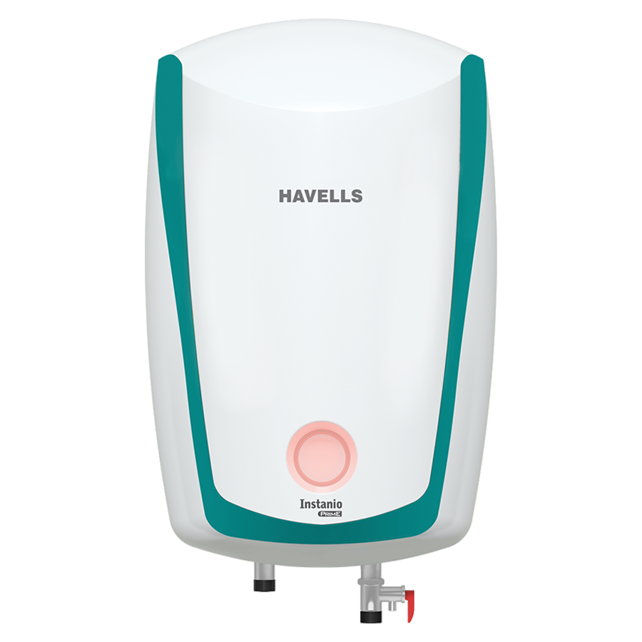 Havells Instanio Prime 6 Litres 5 Star Storage Water Geyser (3000 Watts, GHWAIATWB006, White/Blue)_1