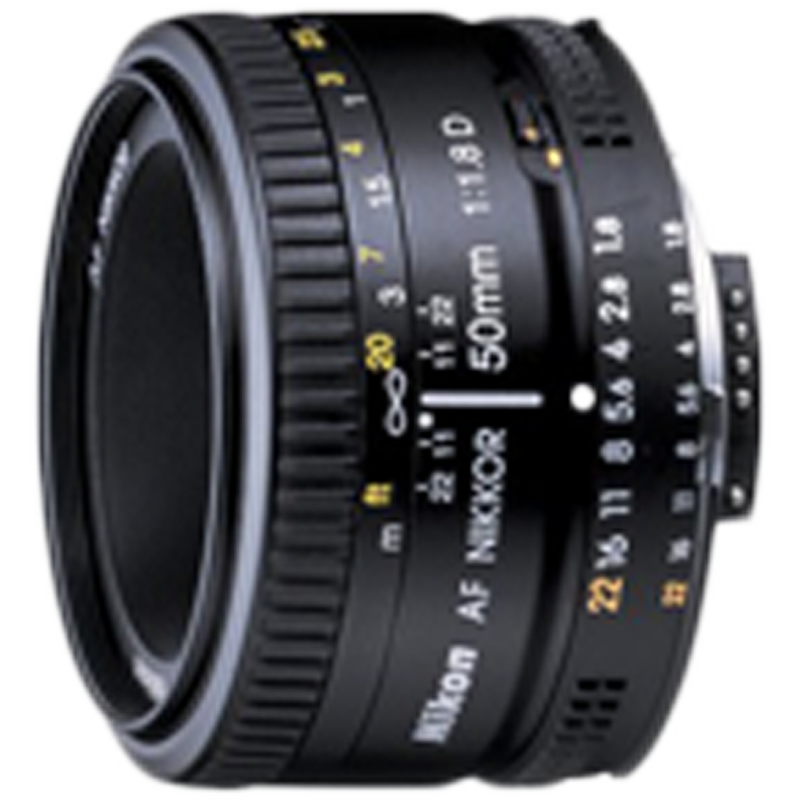 Nikon Nikkor Lens (AF 50 mm f/1.8D, Black)_1