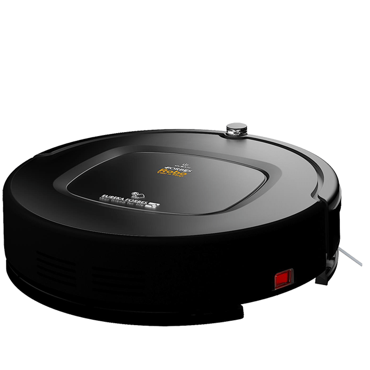Eureka Forbes Robo Vac n Mop 16 Watts Robotic Vacuum Cleaner (0.5 Liters Tank, GFCDFRCLN00000, Black)_1