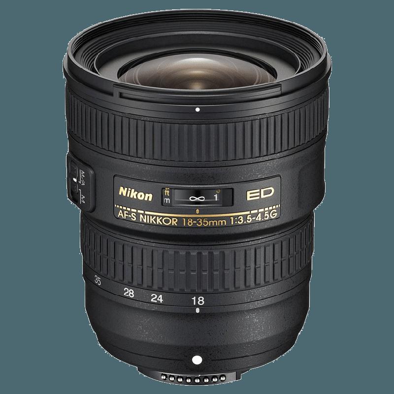 Nikon Nikkor Lens (AF-S 18-35 mm f/3.5-4.5G ED, Black)_1