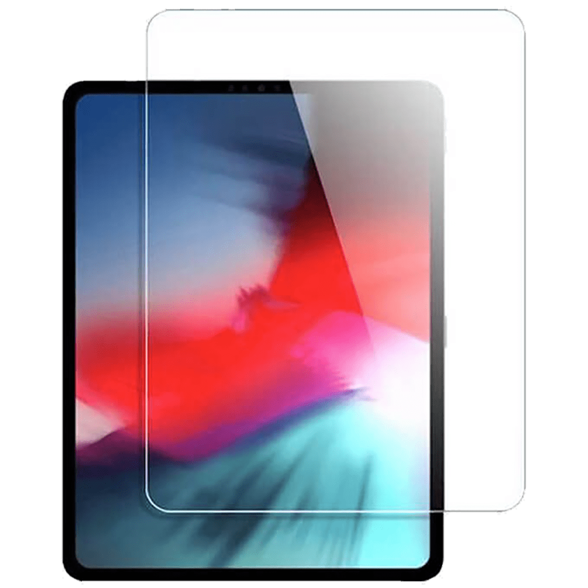 Scratchgard Screen Protector For Apple iPad Pro 12.9 (Oil Resistant Smudge Proof, TGIPADPRO12.9, Transparent)_1