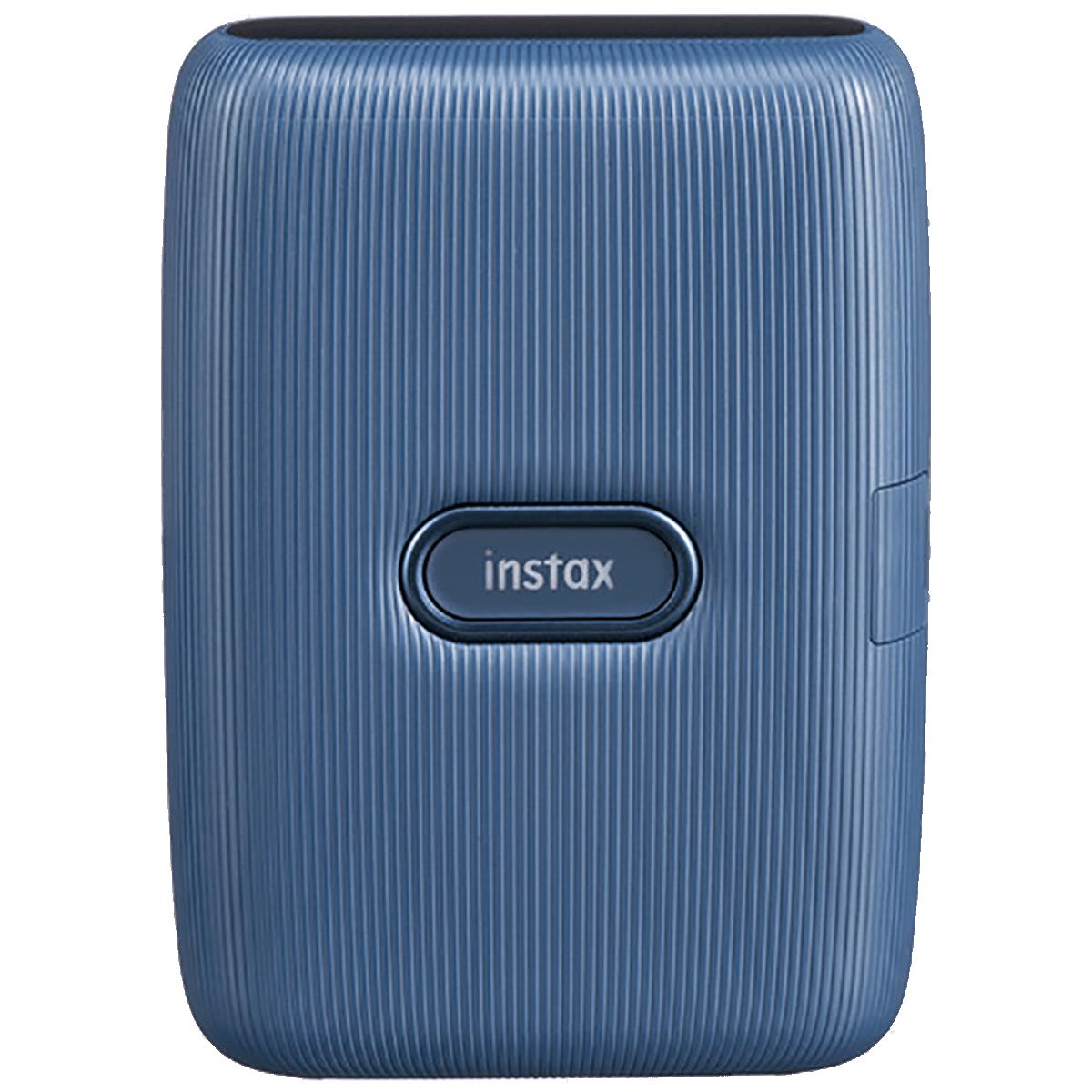 Fujifilm Instax Mini Link Bluetooth Color Smartphone Printer (Automatic Film Detection, IC0126, Dark Denim)_1