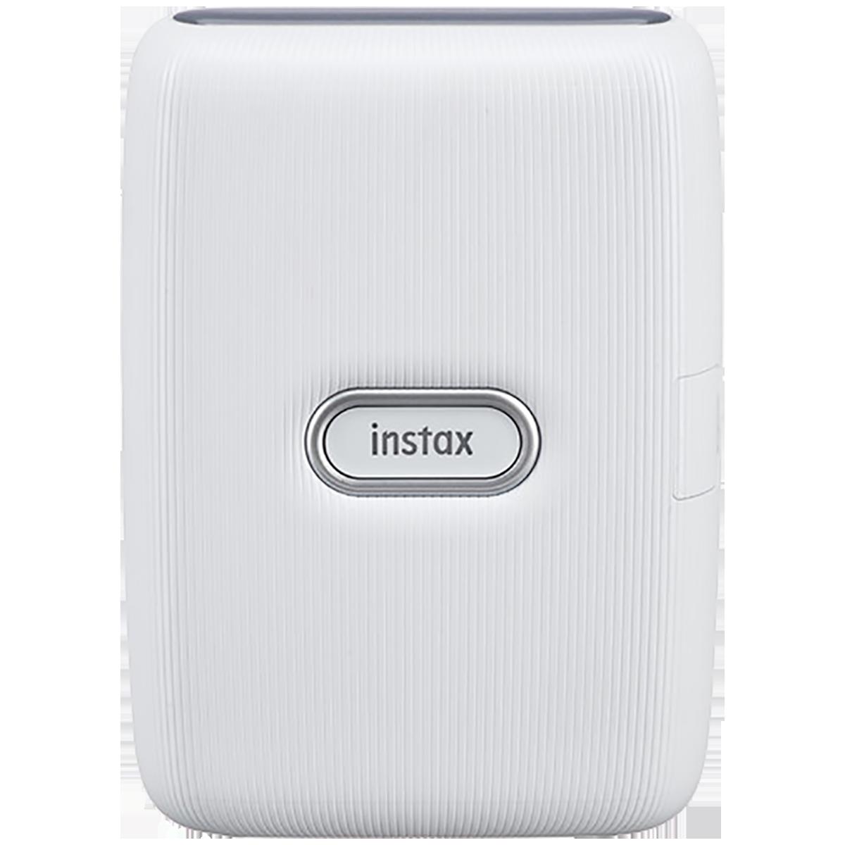 Fujifilm Instax Mini Link Bluetooth Color Smartphone Printer (Automatic Film Detection, IC0126, Ash White)_1