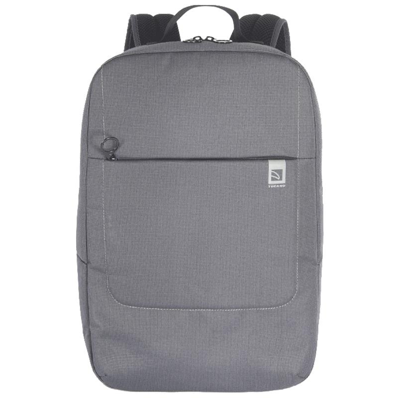 Tucano Loop Polyester Backpack For 15.6 Inch Laptop (Two-tone Fabric, BKLOOP15-BK, Black)_1
