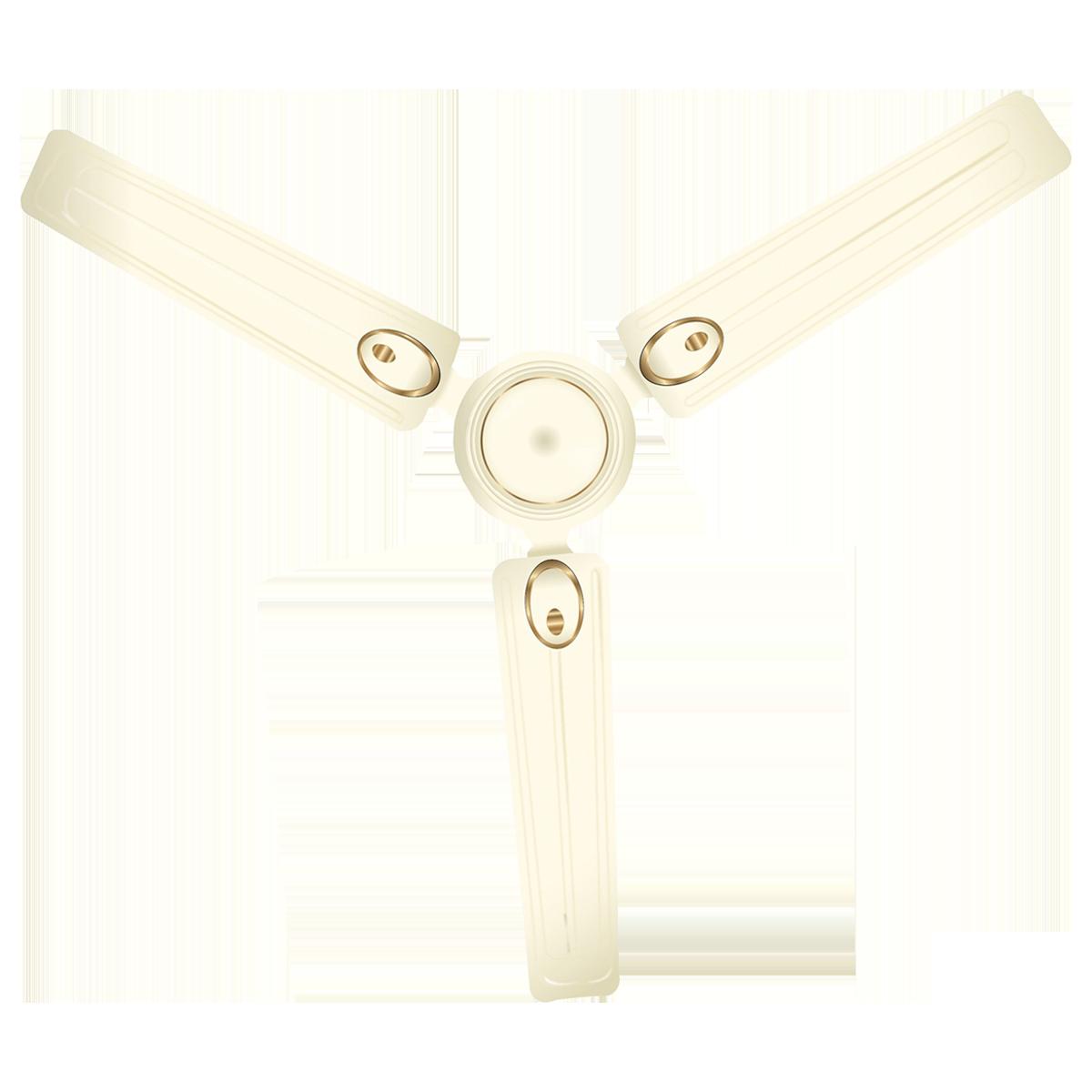 Lifelong 120cm Sweep 3 Blades Ceiling Fan (Efficient Copper Motor, LLCF302, Ivory)_1