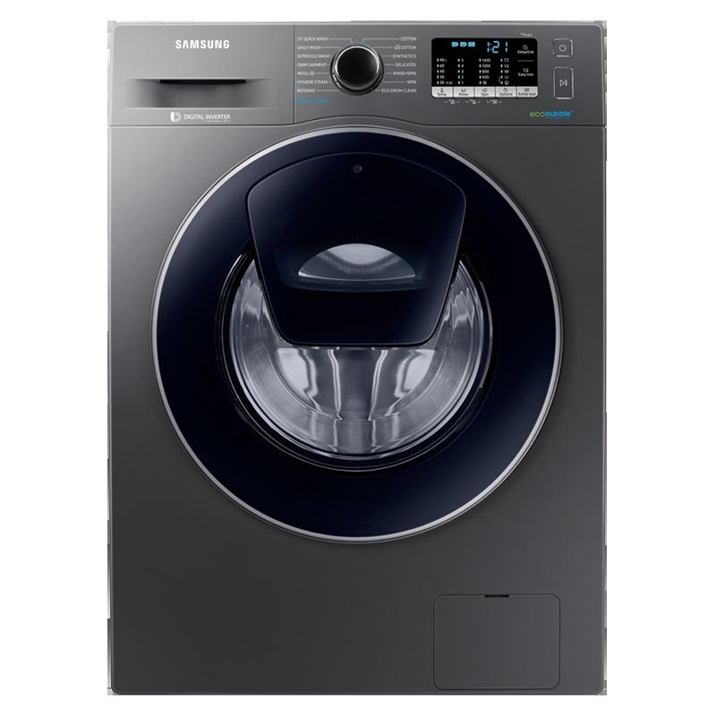 Samsung 9 Kg 5 Star Fully Automatic Front Load Washing Machine (Hygiene Steam, WW91K54E0UX/T, Inox)_1