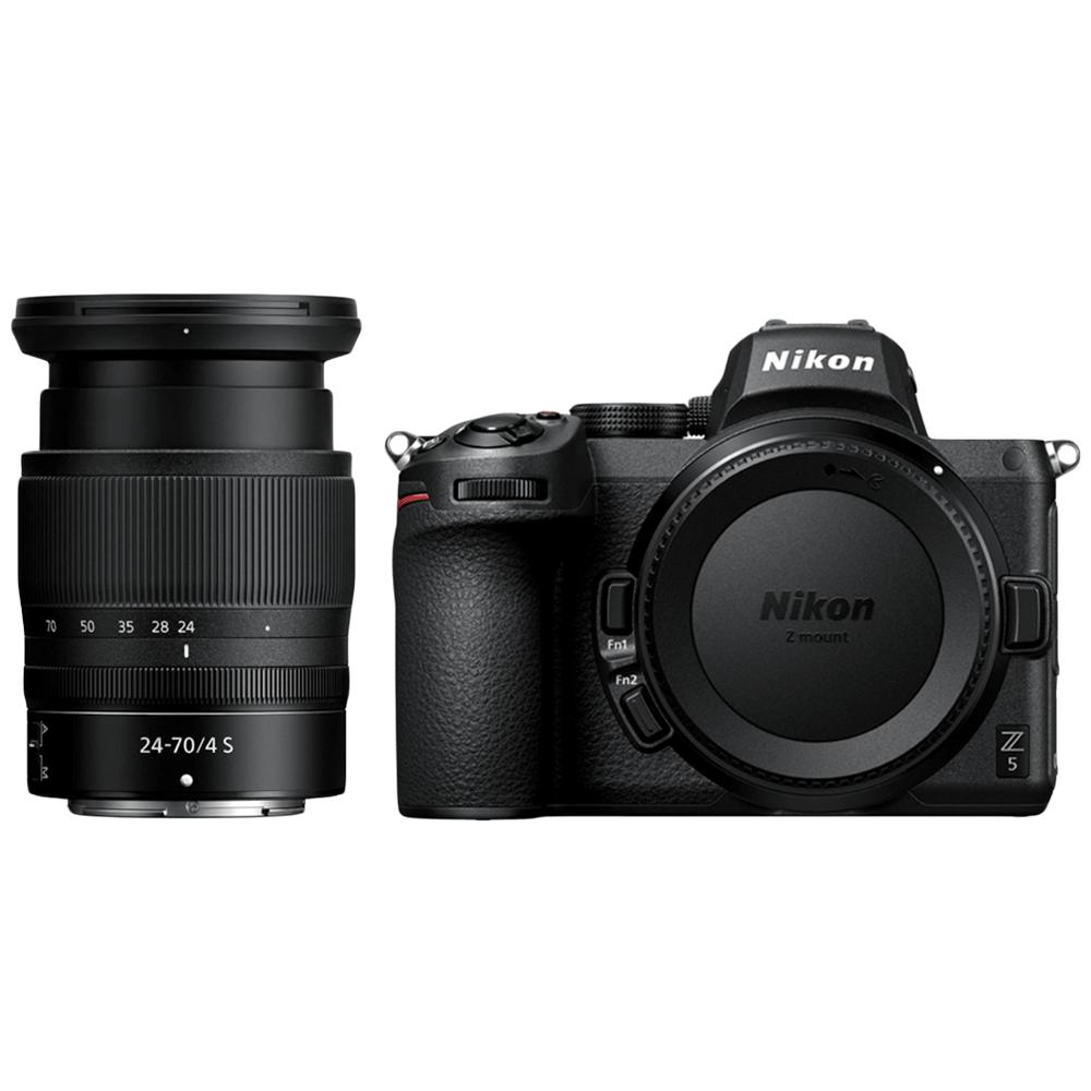 Nikon Z 5 24.3MP Mirrorless Camera (Single Lens Kit, Diopter Adjustment, VOK040XN, Black)_1