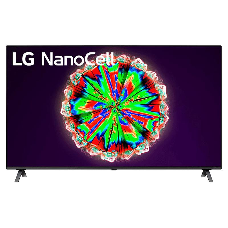 LG Nano80 124.46cm (49 Inch) 4K Ultra HD LED Smart TV (Real 4K NanoCell Display, 49NANO80TNA, Black)_1