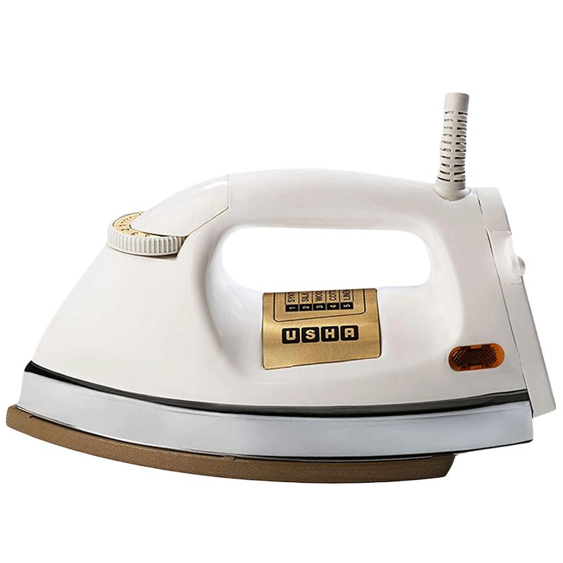 Usha 1000 Watts Dry Iron (Shock Proof, EI3710, White)_1