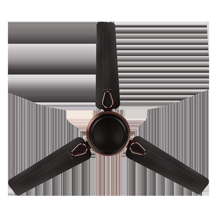 Hindware Stunner 120 cm Sweep 3 Blades Ceiling Fan (CF-STUNNER-48-BROW, Brown)_1