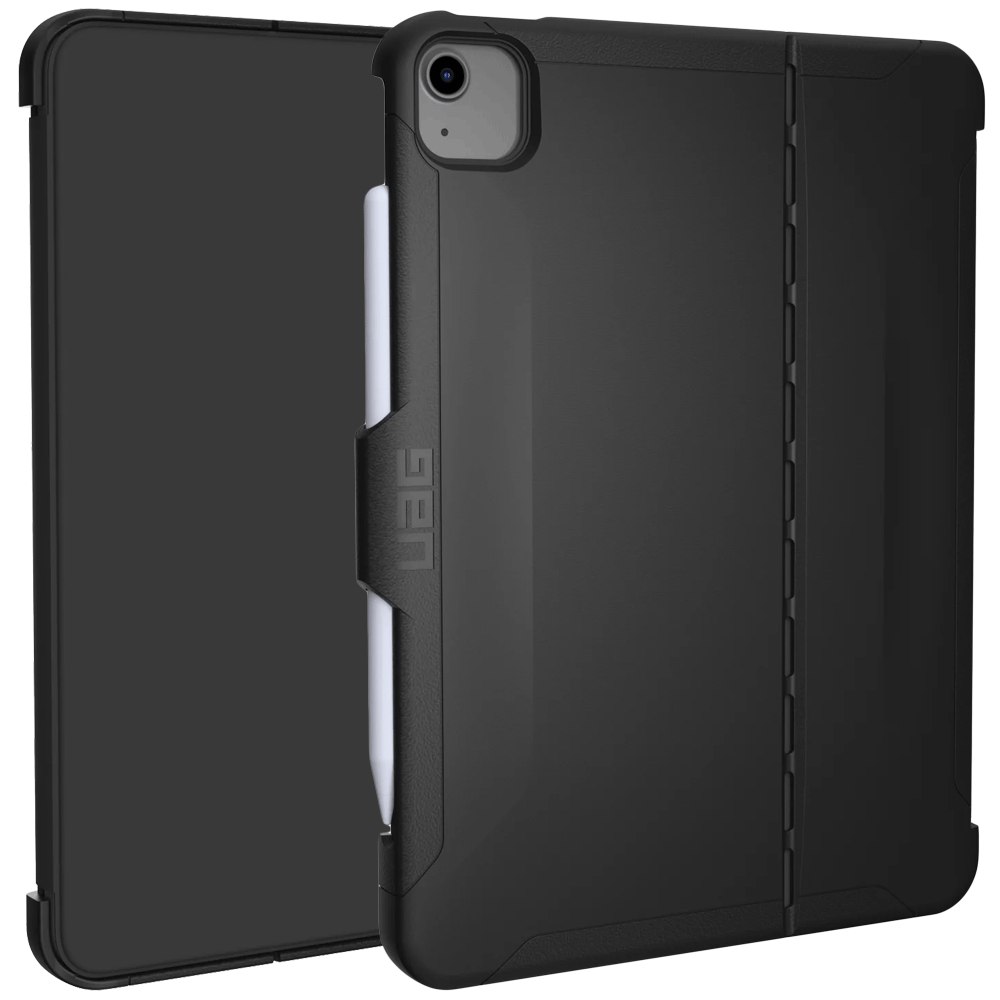 UAG Scout Thermoplastic Polyurethane, Polycarbonate Flip Case For iPad Air 10.9 Inch (Feather-Light Construction, UGSC_IPD109AIR4_BK, Black)_1