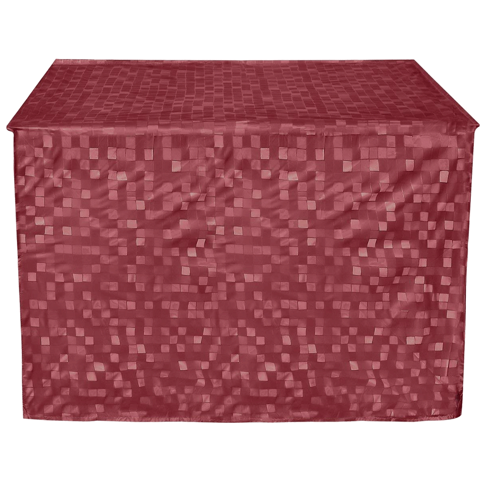 Kuber Industries Cover for 2 Ton AC (Durable and Long-lasting, CTKTC01716, Maroon)_1