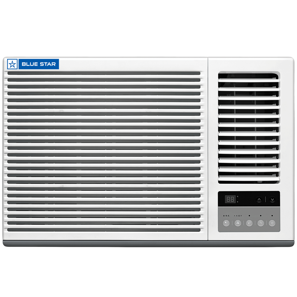 Blue Star GBT( LV) 1 Ton 5 Star Window AC (Air Purification Function, Copper Condenser, 5W12GBTLV, White)_1