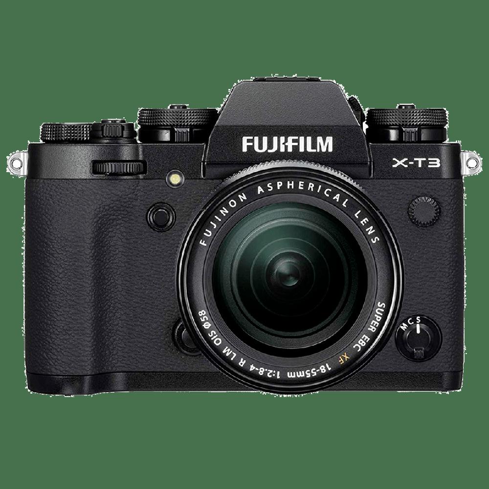 Fujifilm X-T3 26.1MP Mirrorless Camera (Built-in Lens, Color Chrome Effect, 16588690, Black)_1