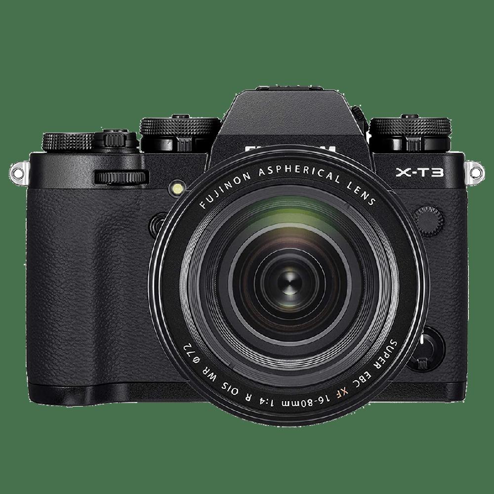 Fujifilm X-T3 26.1MP Mirrorless Camera (Built-in Lens, Color Chrome Effect, 16643385, Black)_1