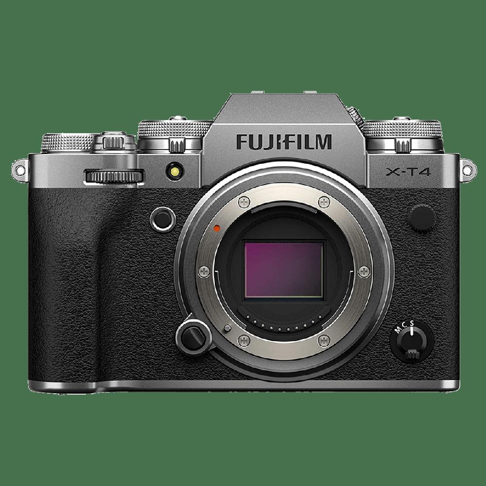 Fujifilm X-T4 26.1MP Mirrorless Camera (Weather-sealed Body, 16650601, Silver)_1