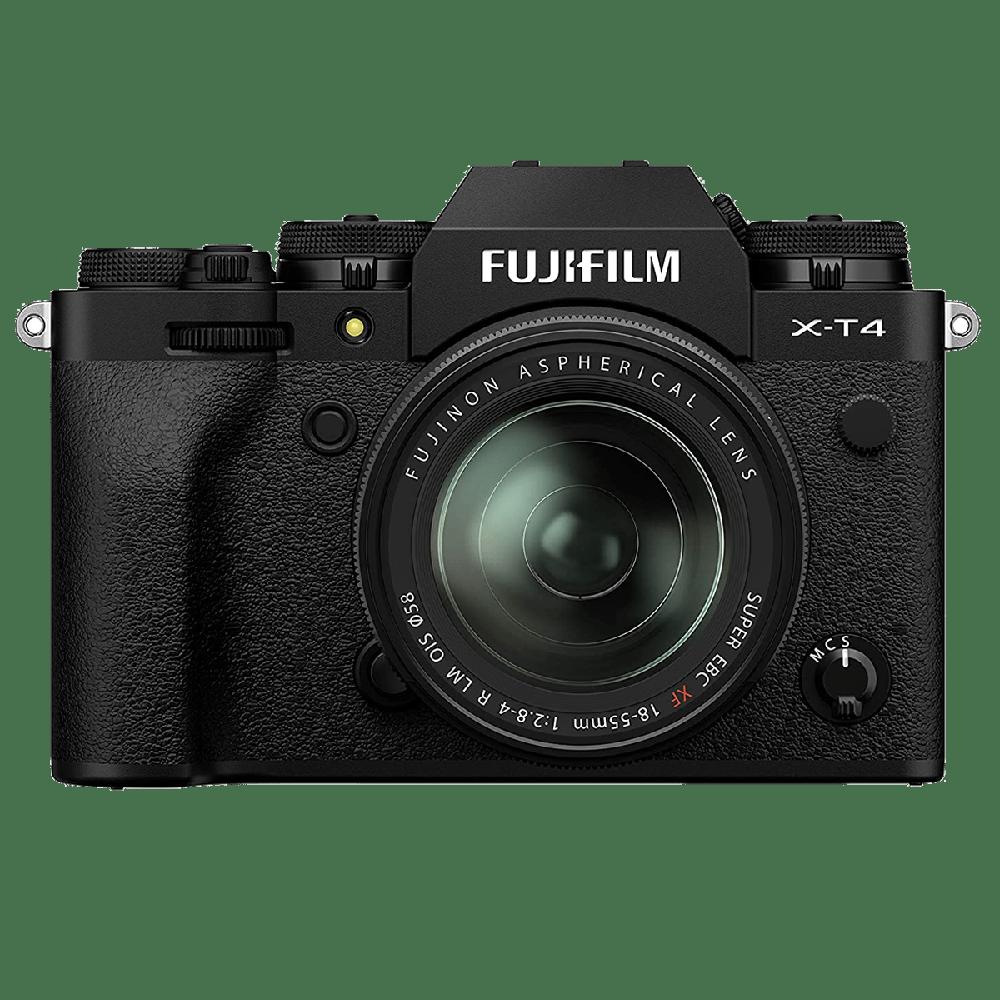 Fujifilm X-T4 26.1MP Mirrorless Camera (Built-in Lens, Weather-sealed Body, 16650742, Black)_1
