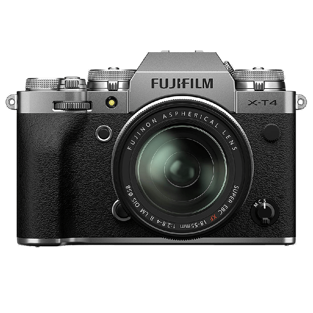 Fujifilm X-T4 26.1MP Mirrorless Camera (Built-in Lens, Weather-sealed Body, 16650883, Silver)_1