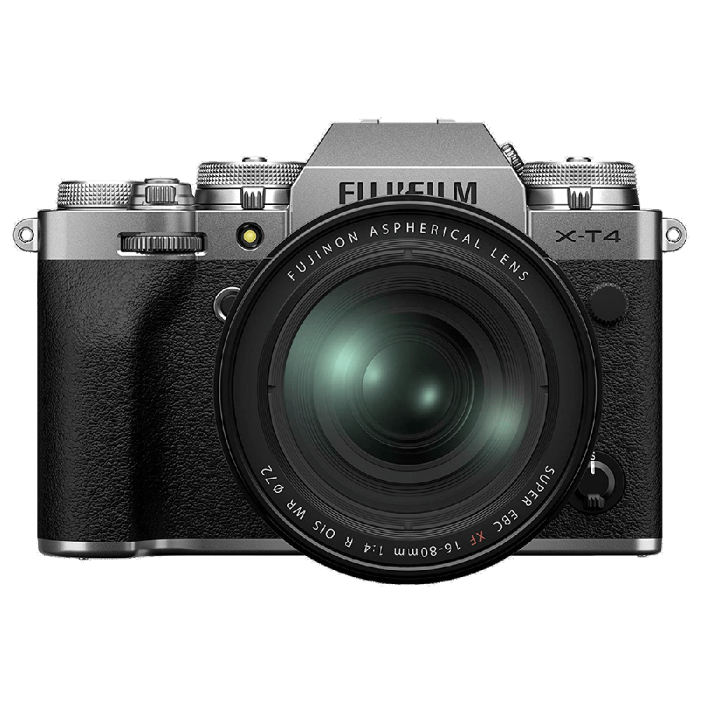 Fujifilm X-T4 26.1MP Mirrorless Camera (Built-in Lens, Weather-sealed Body, 16651277, Silver)_1