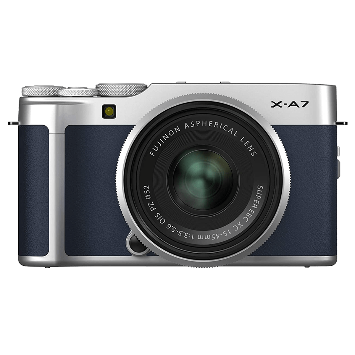Fujifilm X-A7 24.2MP Mirrorless Camera (Built-in Lens, Simple Tap-and-Swipe Operation, 16649925, Navy Blue)_1