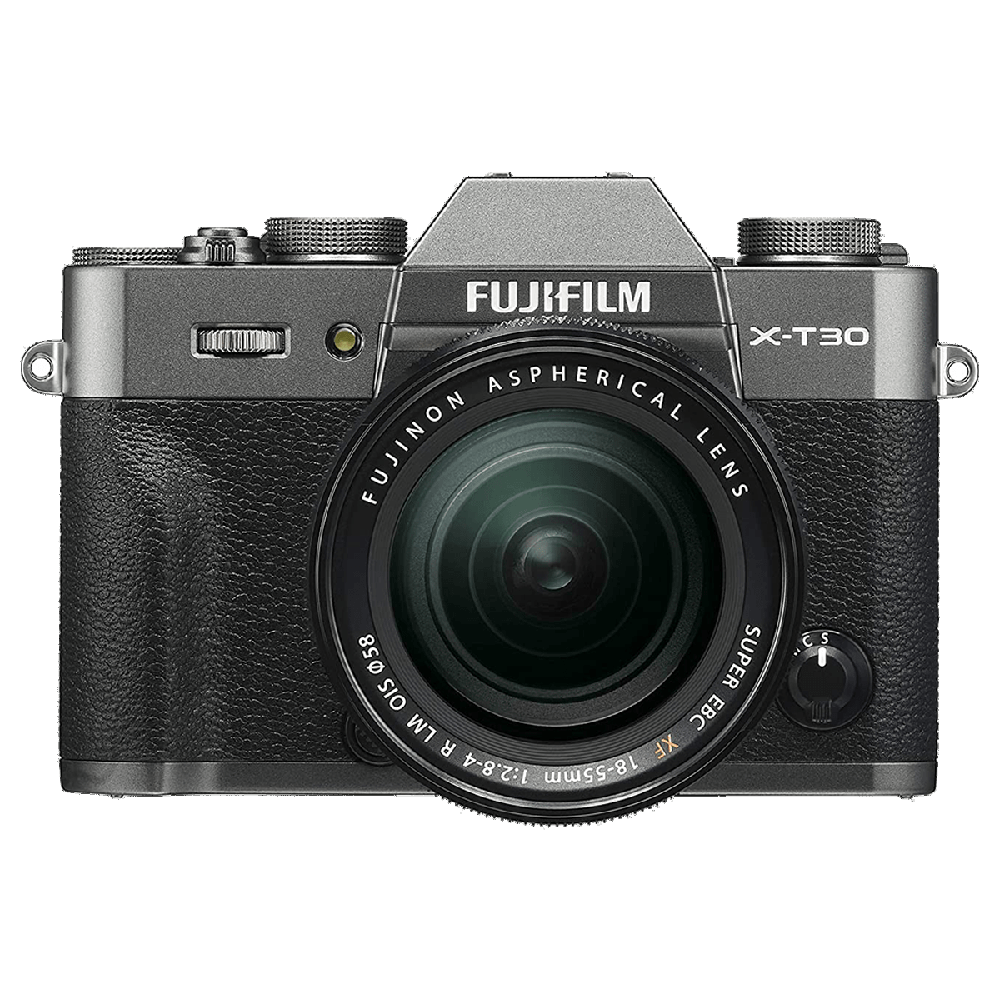 Fujifilm X-T30 26.1MP Mirrorless Camera (Built-in Lens, Color Chrome Effect, 16620113, Charcoal Silver)_1