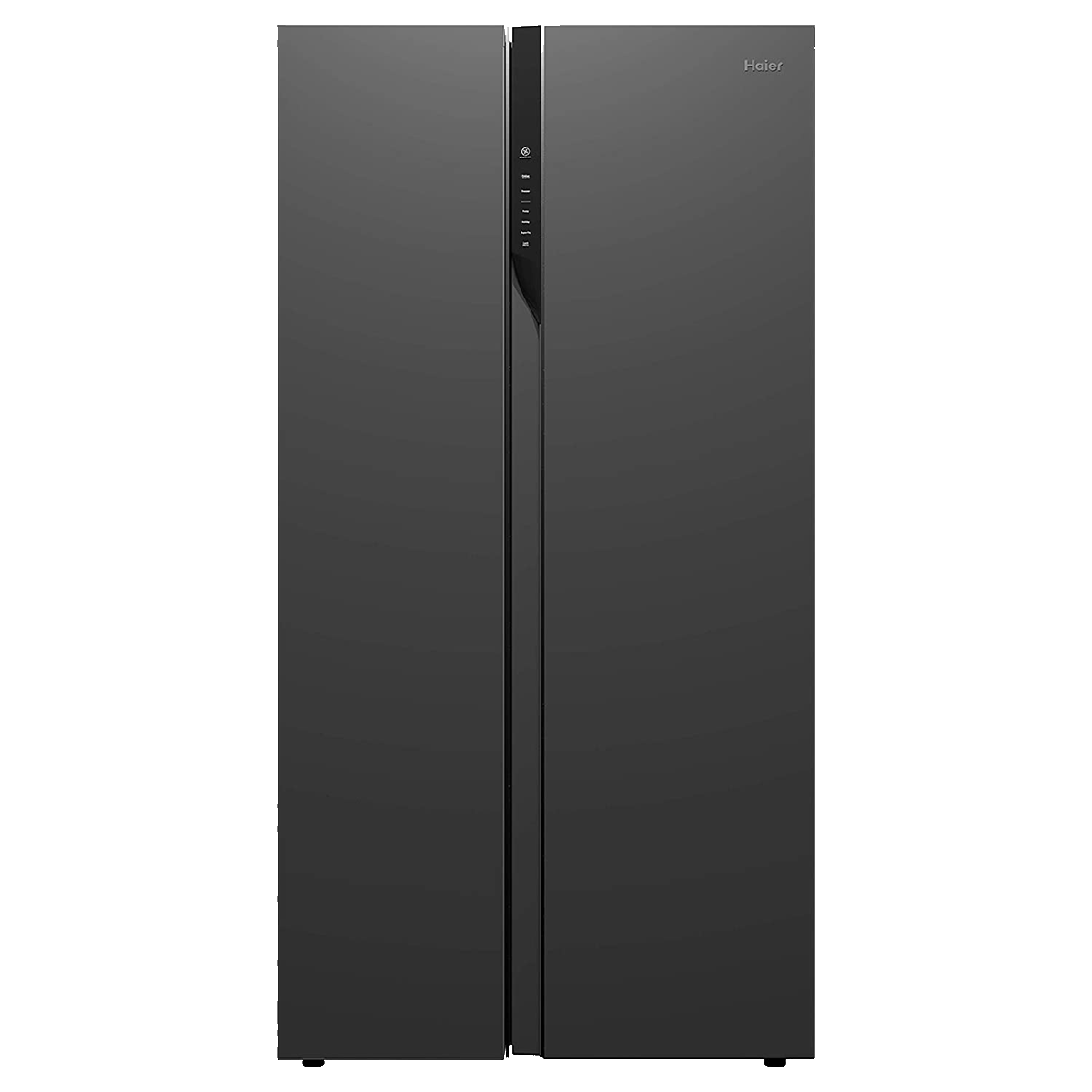 Haier 570 Litres Frost Free Inverter Side-by-Side Door Refrigerator (Deo Fresh Technology, HRF-622KS, Black Steel)_1