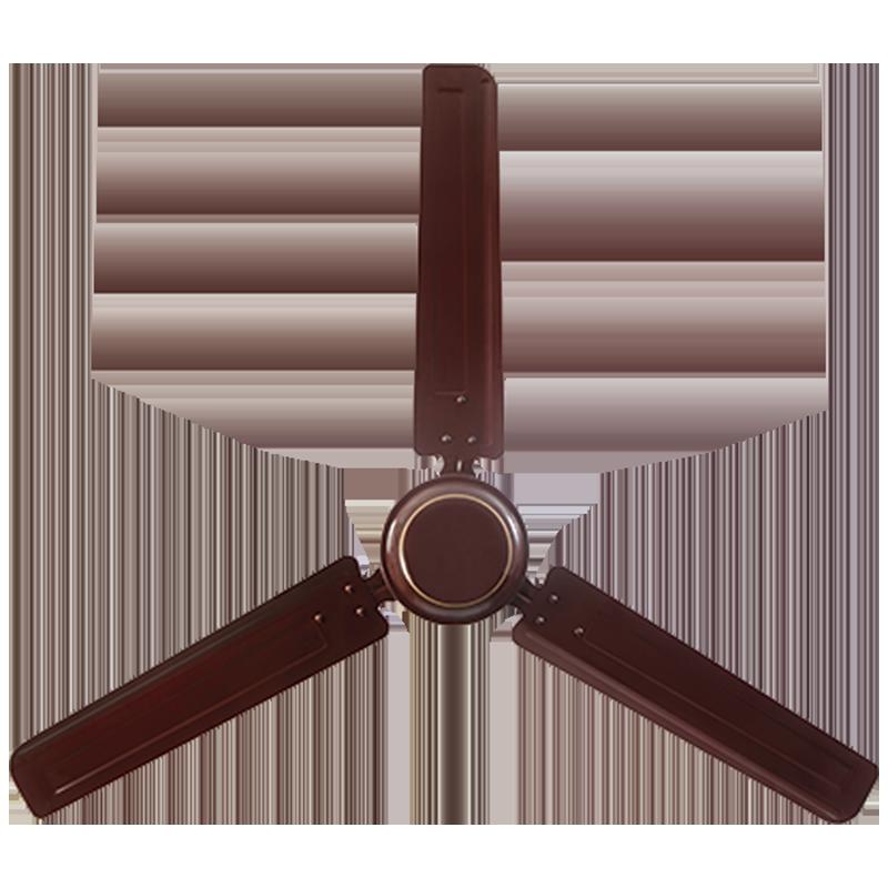 Usha Swift 120cm Sweep 3 Blade Ceiling Fan (High Lift Angle of Blade, 111148510W, Rich Brown)_1
