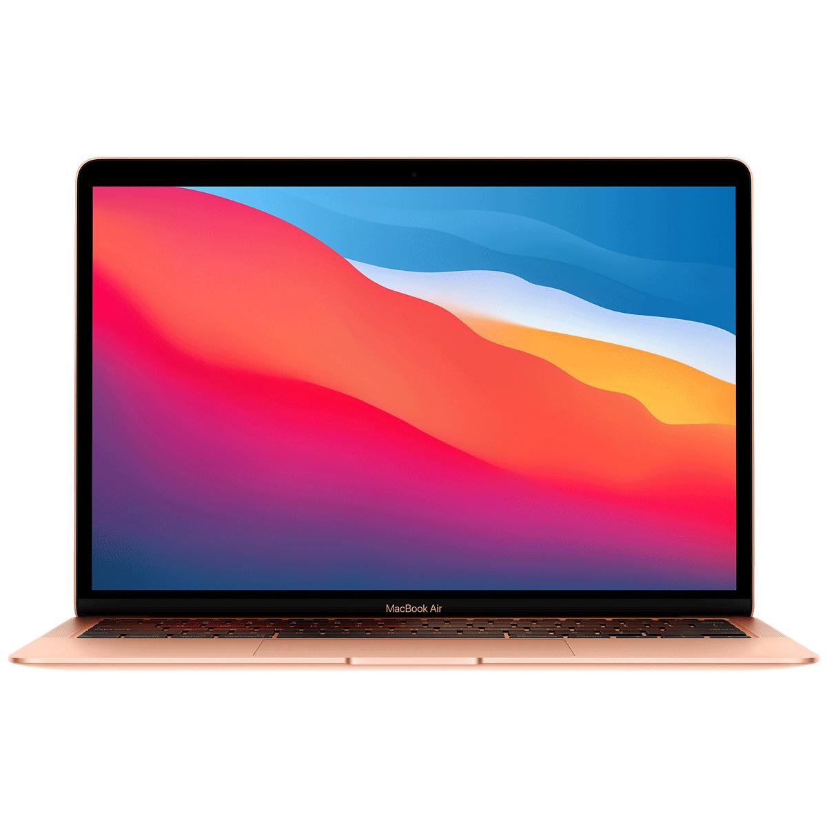 Apple MacBook Air (MGND3HN/A) M1 Chip macOS Big Sur Laptop (8GB RAM, 256GB SSD, Apple M1 GPU, 33.78cm, Gold)_1