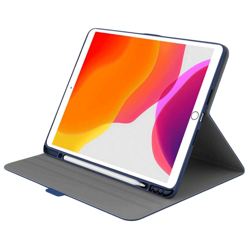 Cygnett Tekview TPU Slim Case For iPad 10.2 Inch (Textured Grip System, CY3063TEKVI, Blue)_1