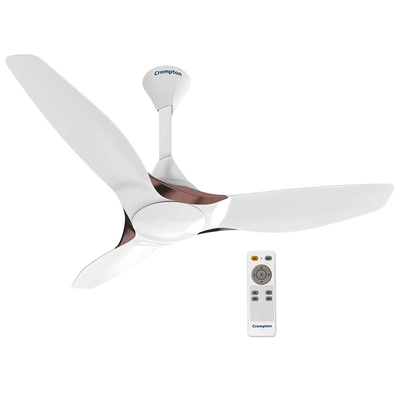 Crompton SilentPro Enso 120cm Sweep 3 Blade Ceiling Fan (Aerodynamic Design, CFSPENS48MWTAD, Mist White)_1