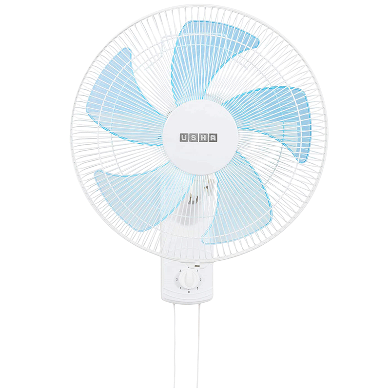 Usha Pentacool 40cm 5 Blade Wall Fan (With Copper Motor, 141022741, White)_1