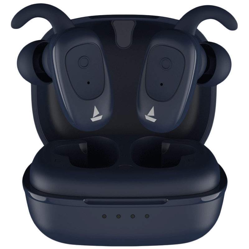 Boat Airdopes In-Ear Truly Wireless Earbuds with Mic (Bluetooth 5.0, 203, Blue)_1