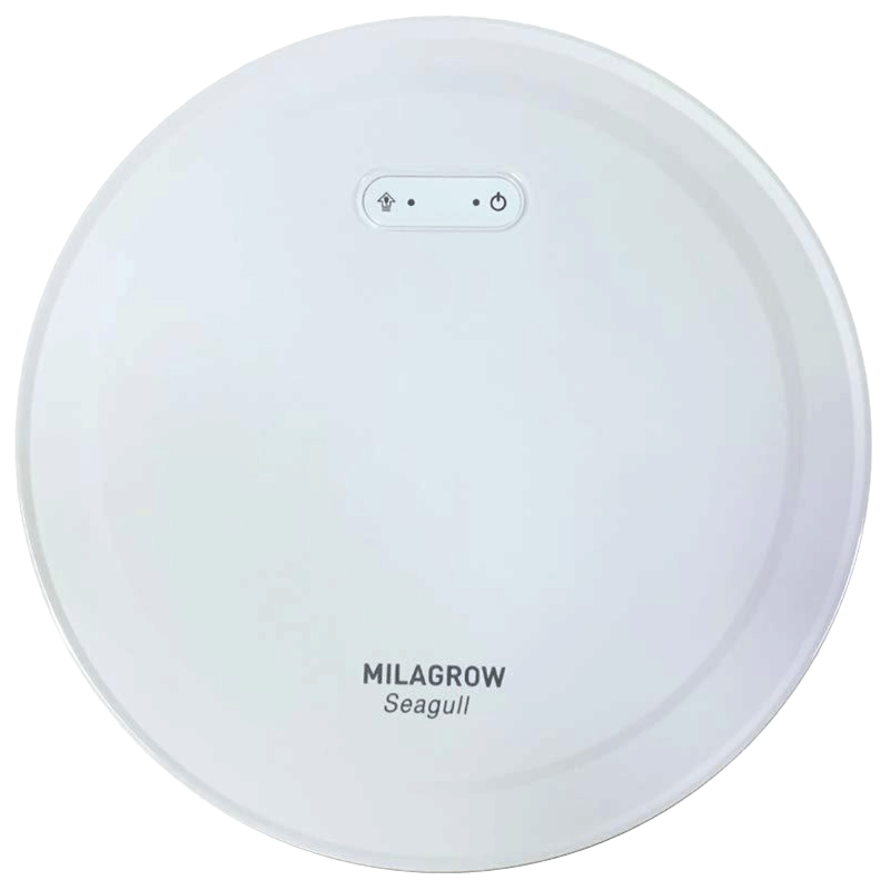 Milagrow Seagull 30 Watts Robotic Vacuum Cleaner (Wet & Dry, Alexa Voice Enabled, 0.65 L, White)_1