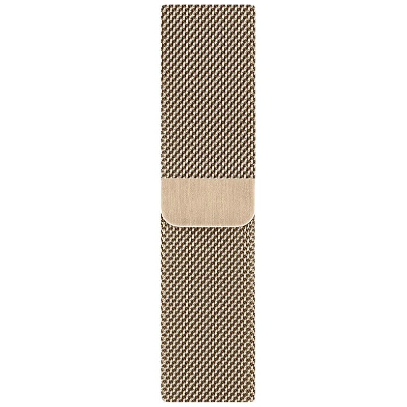 Apple Milanese Loop Strap For Apple Watch 44 mm (MYAP2ZM/A, Gold)_1