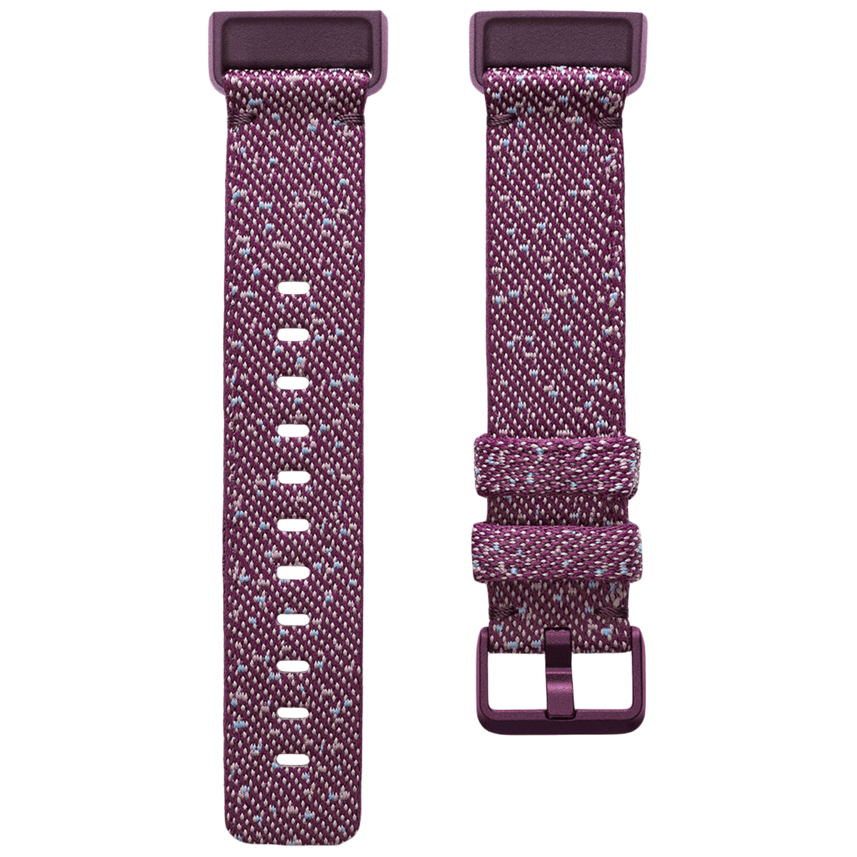 Fitbit Woven Small Strap For Fitbit Charge 4 (FB168WBBYS, Rosewood)_1