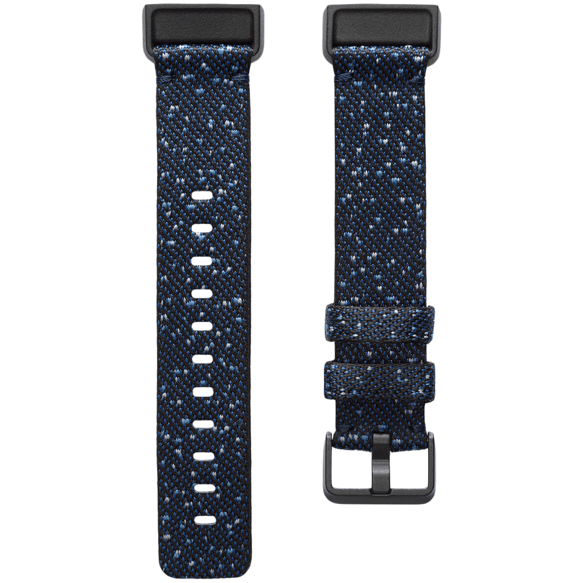 Fitbit Woven Large Strap For Fitbit Charge 4 (FB168WBNVBKL, Midnight)_1
