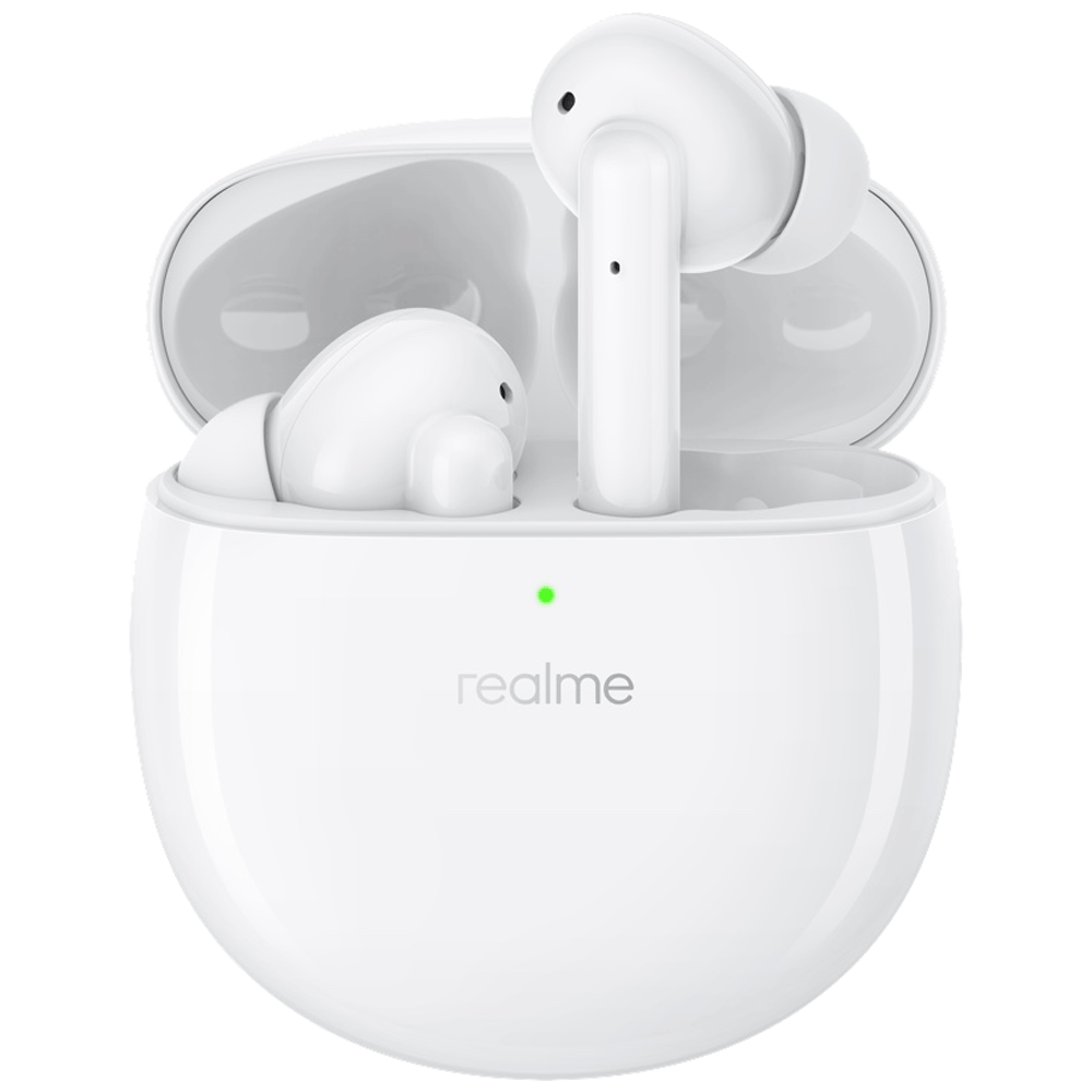 Realme Buds Air Pro In-Ear Active Noise Cancellation Truly Wireless Earbuds with Mic (Bluetooth 5.0, Fast Charging Capability, RMA210, Soul White)
