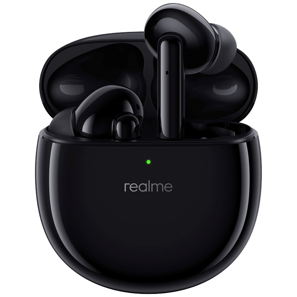 Realme Buds Air Pro In-Ear Truly Wireless Earbuds with Mic (Bluetooth 5.0, Active Noise Cancellation, RMA210, Rock Black)_1