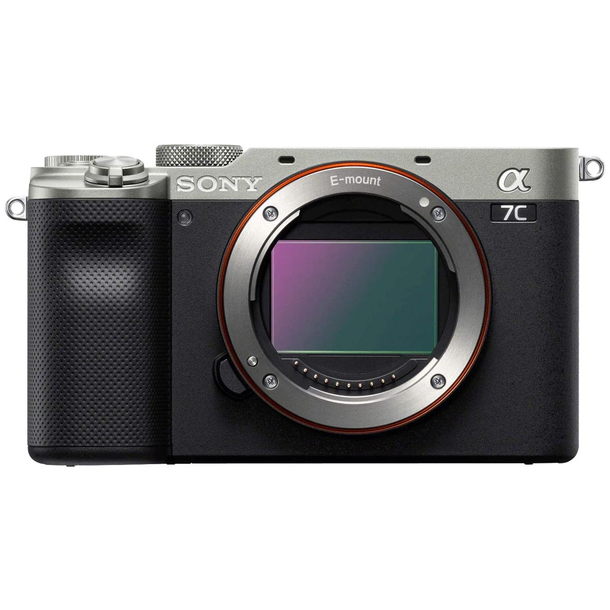 Sony Alpha 7C 24.2MP Mirrorless Camera (EXMOR R CMOS Sensor, ILCE-7C, Silver)_1