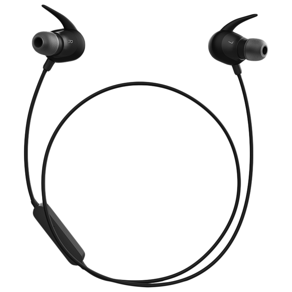 Crossbeats Pulse In-Ear Headphones with Integrated Microphone (Bluetooth, CB-PULSE, Black)_1