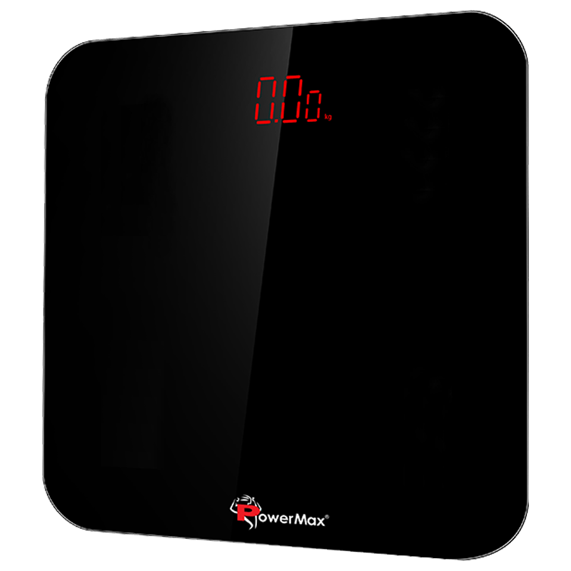 PowerMax Weight Scale (Step-on Technology, Precision Sensors, BSD-3, Jet Black)_1