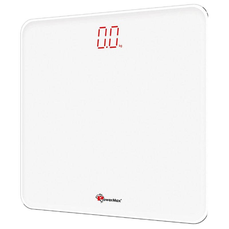 PowerMax Weight Scale (Step-on Technology, Precision Sensors, BSD-5, Super White)_1