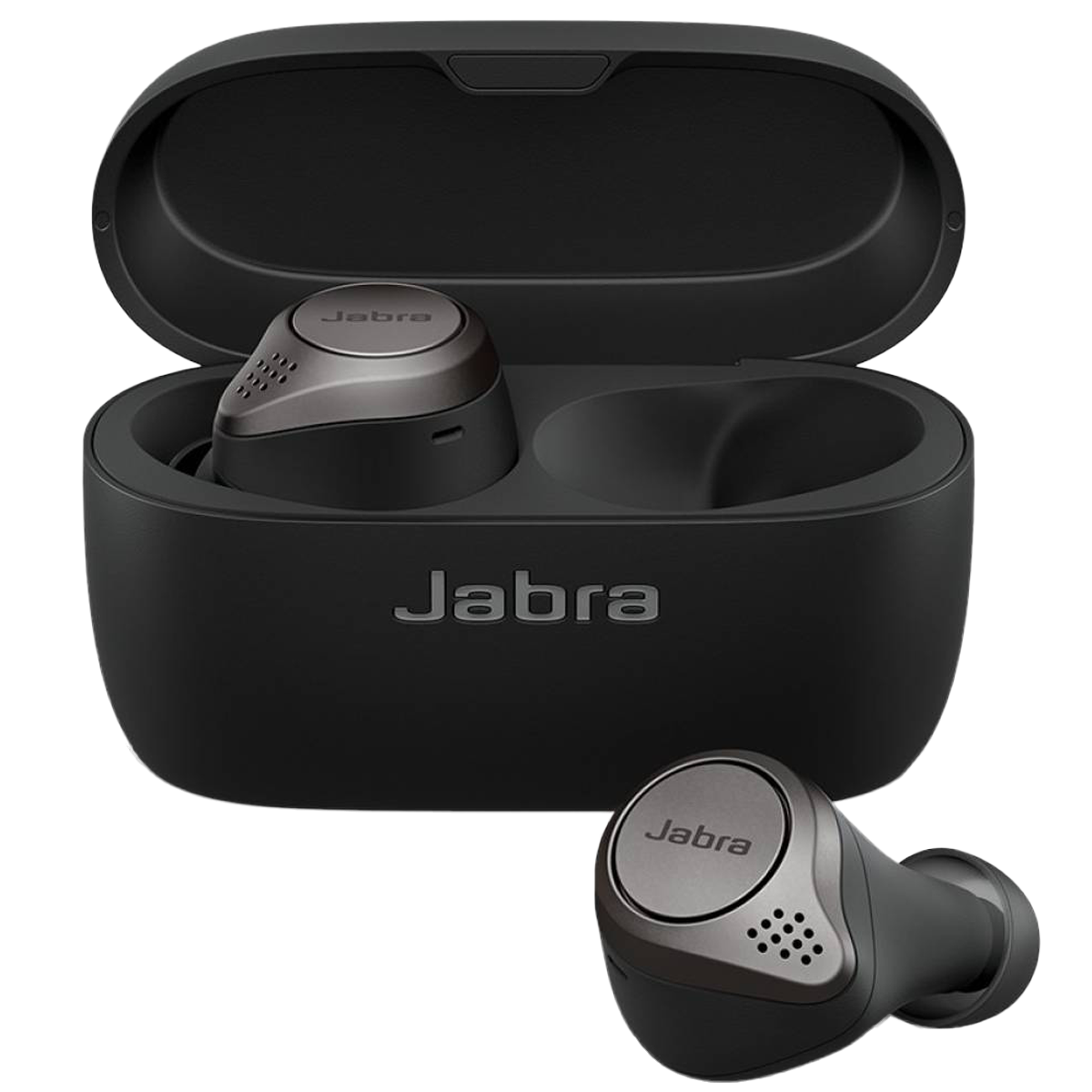 Jabra Elite 75t In-Ear Active Noise Cancellation Truly Wireless Earbuds with Mic (Bluetooth 5.0, Voice Assistant Supported, 100-99090000-40, Titanium Black)_1