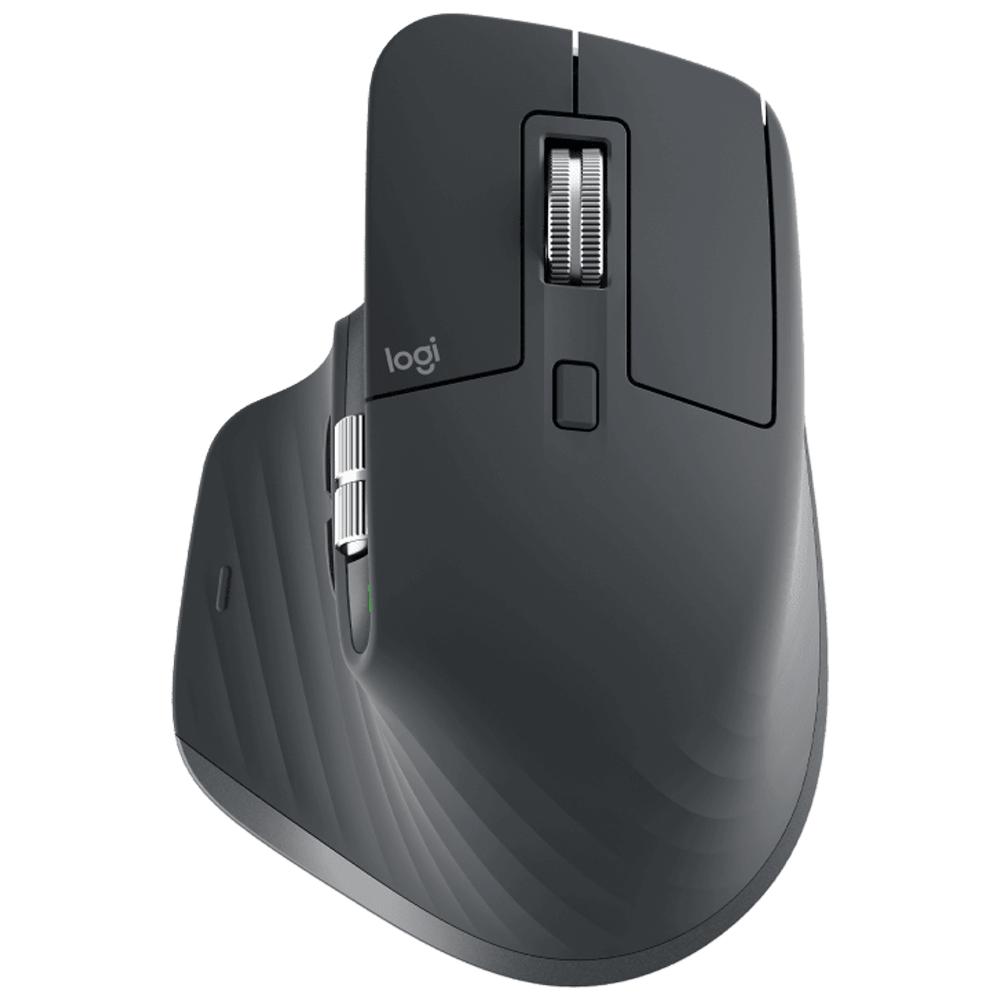 Logitech MX Master 3 Bluetooth and USB Laser Mouse (Sensor Technology, 910-005698, Graphite)_1